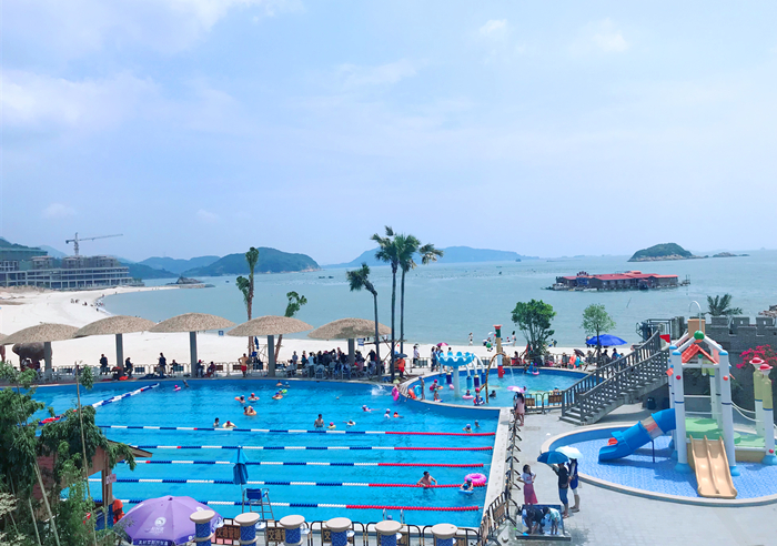 福州最美海湾:连江定海湾山海运动小镇景点图片,团建拓展,评价怎么样