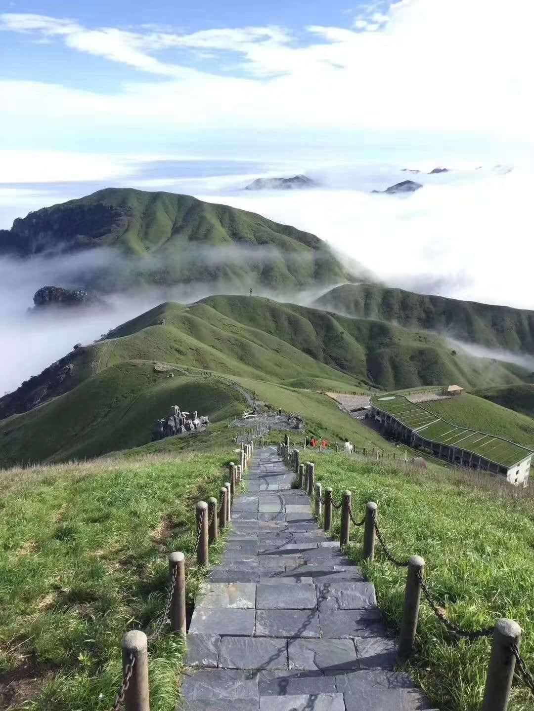 福州出发-漫步武功山品质纯玩双动三日游