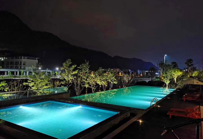 永泰方广书院泳池