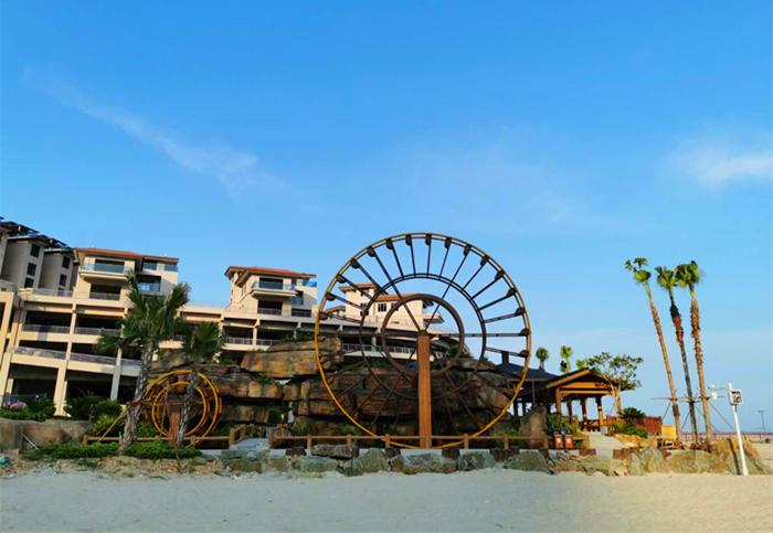 连江定海湾沙滩美景