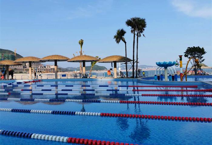 定海湾游泳池