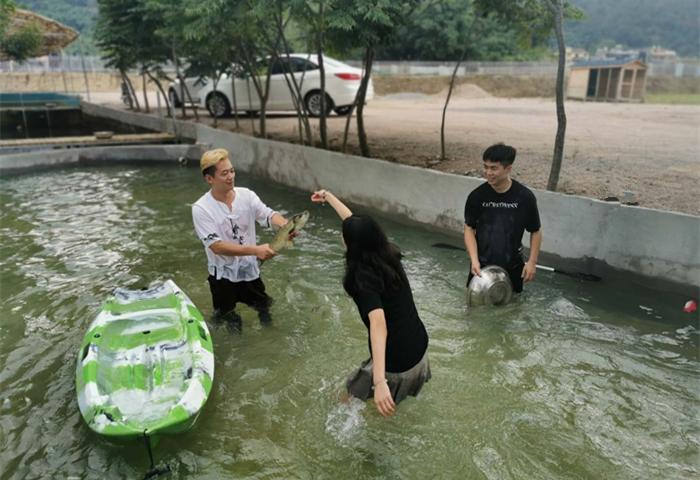 万林生态园戏水区